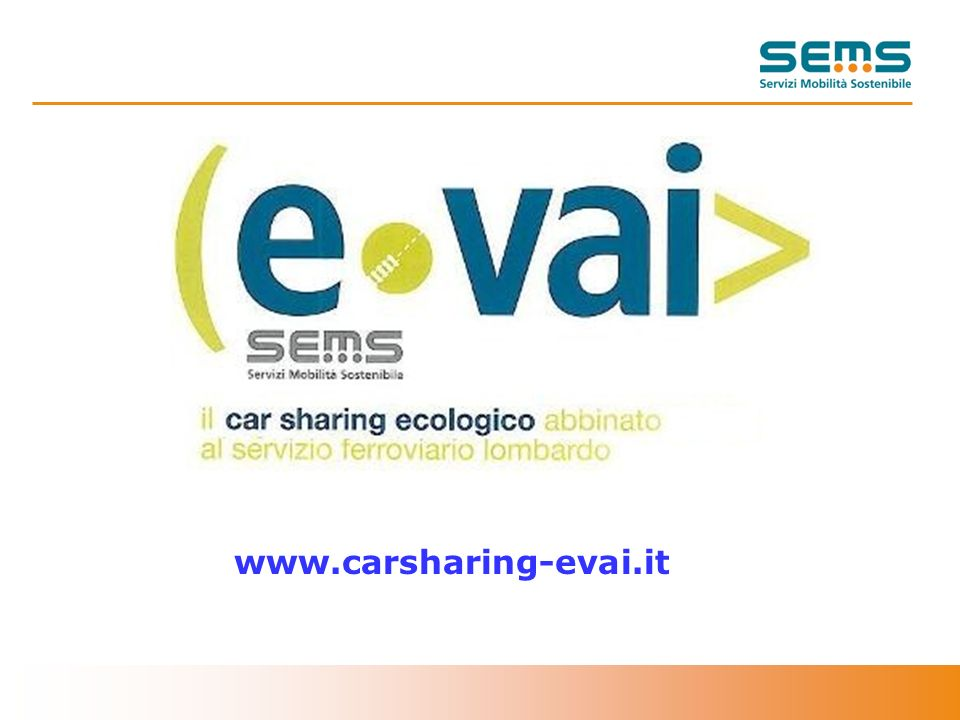 1 www.carsharing-evai.it