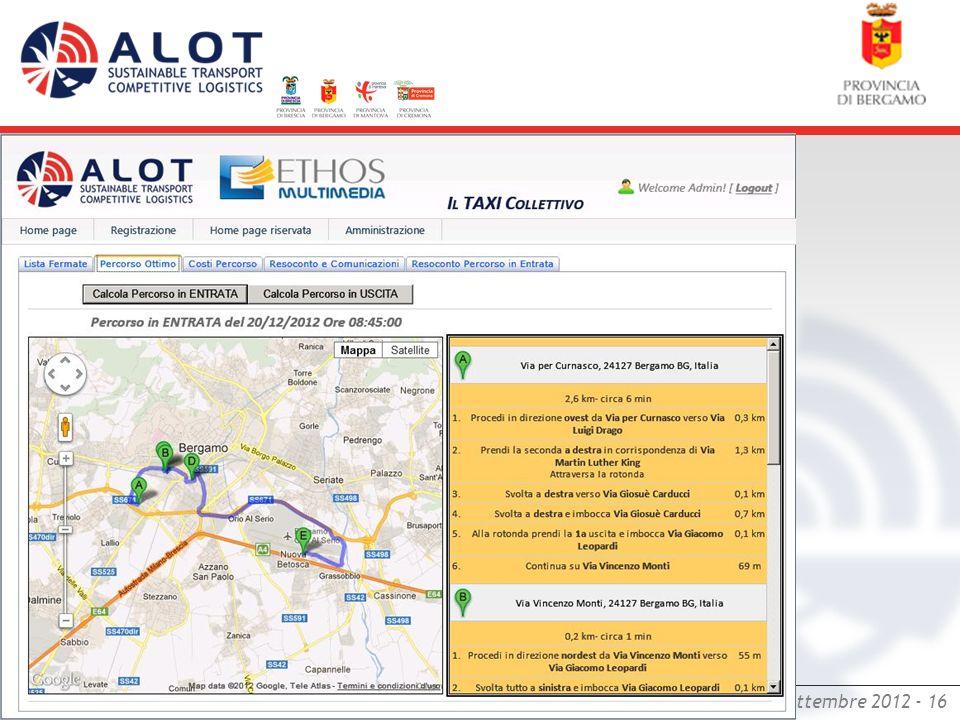 Bergamo,18 settembre 2012 - 16