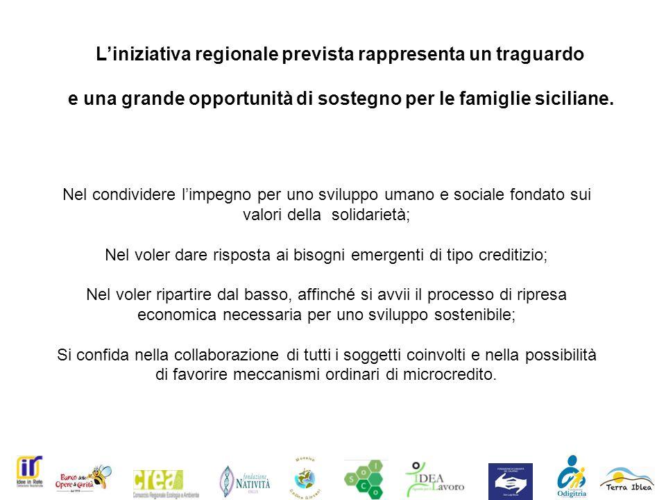 Liniziativa regionale prevista rappresenta un traguardo e una grande opportunità di sostegno per le famiglie siciliane.