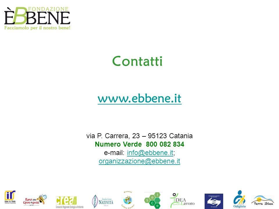 Contatti www.ebbene.it via P.