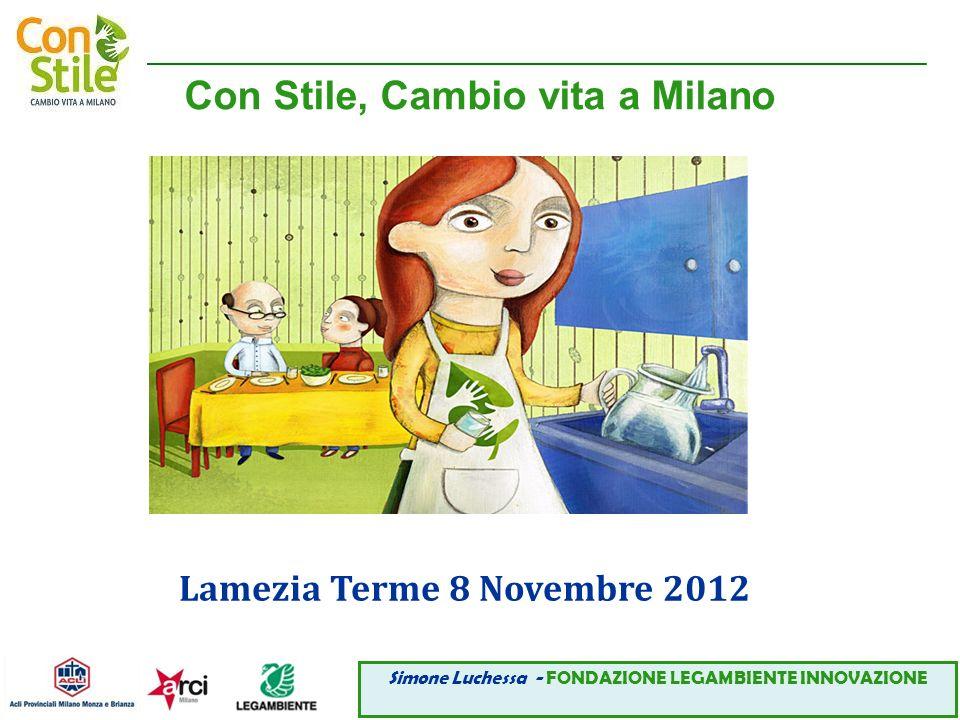 Con Stile, Cambio vita a Milano