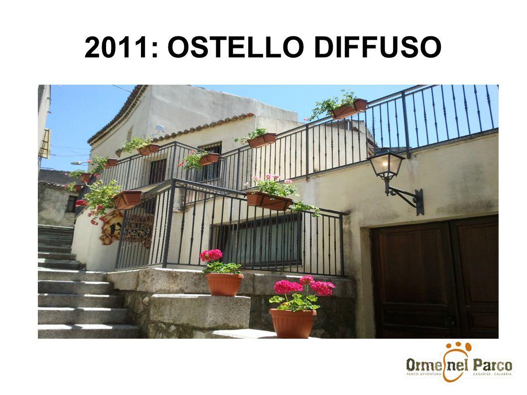 2011: OSTELLO DIFFUSO