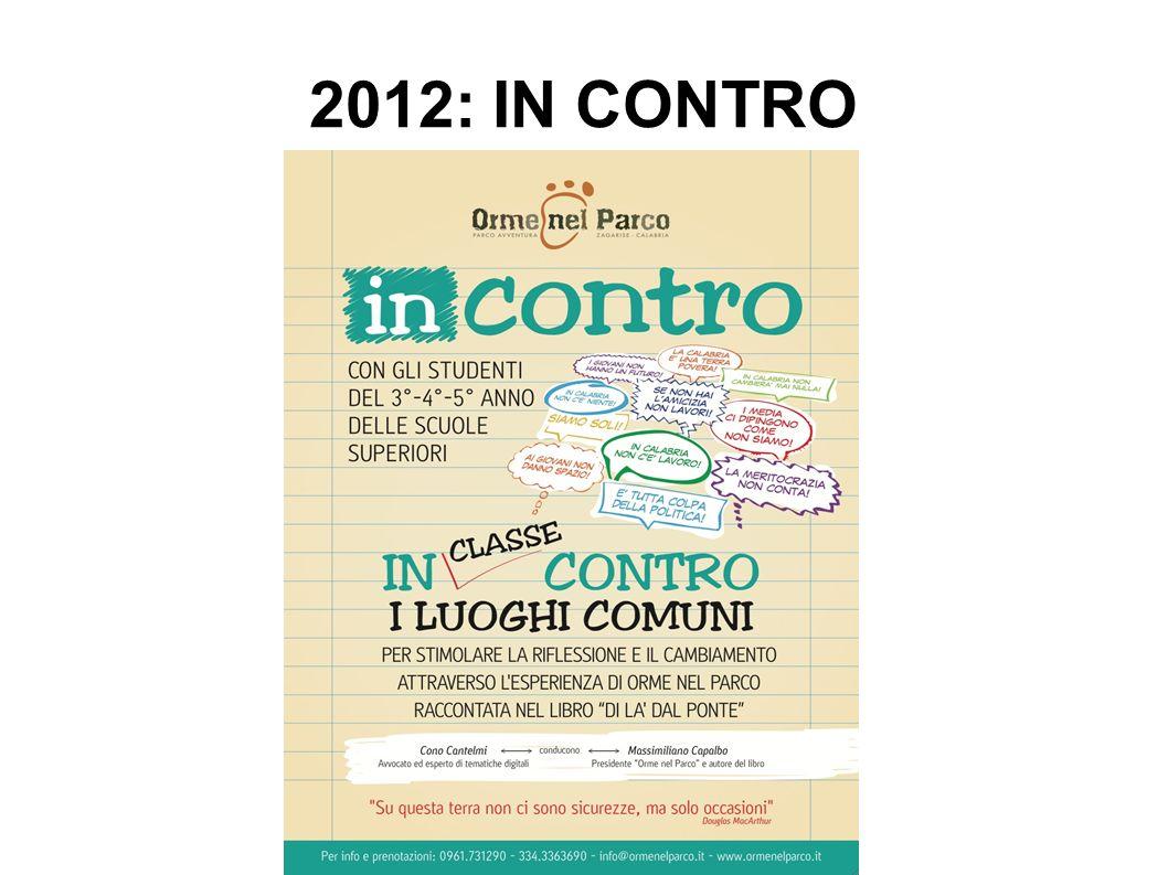 2012: IN CONTRO