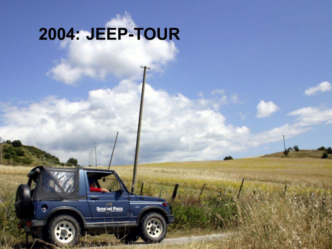 2004: JEEP-TOUR
