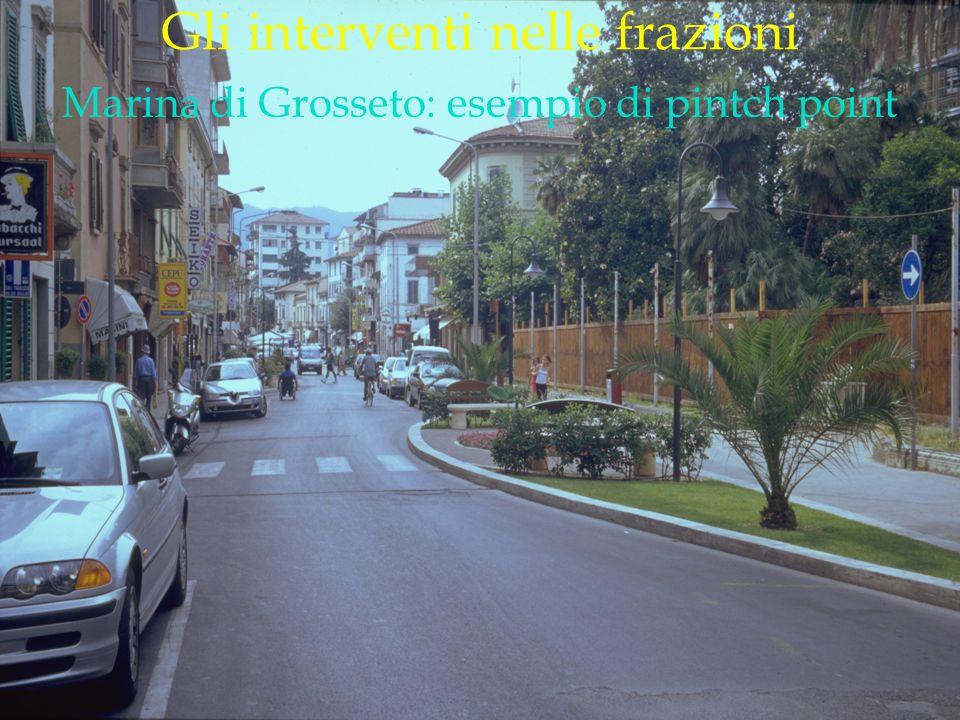 LOGO DELLA SOCIETÀ Gli interventi nelle frazioni Marina di Grosseto: esempio di pintch point