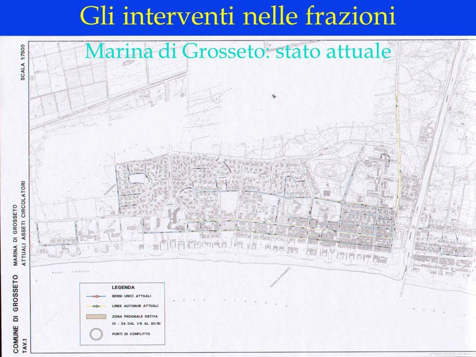 LOGO DELLA SOCIETÀ Marina di Grosseto: i nuovi assetti circolatori Gli interventi nelle frazioni