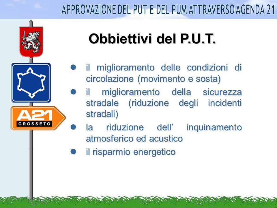 Obbiettivi del P.U.T.