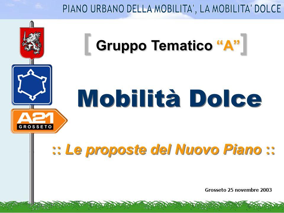 [ Gruppo Tematico A ] Mobilità Dolce :: Le proposte del Nuovo Piano :: Grosseto 25 novembre 2003