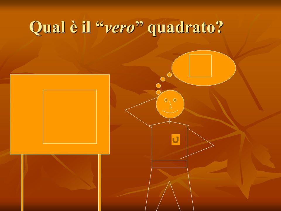 Qual è il vero quadrato?