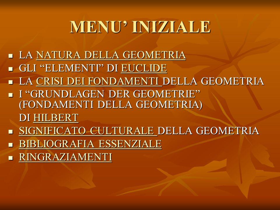 I 4 ASSIOMI DI ORDINAMENTO 1.