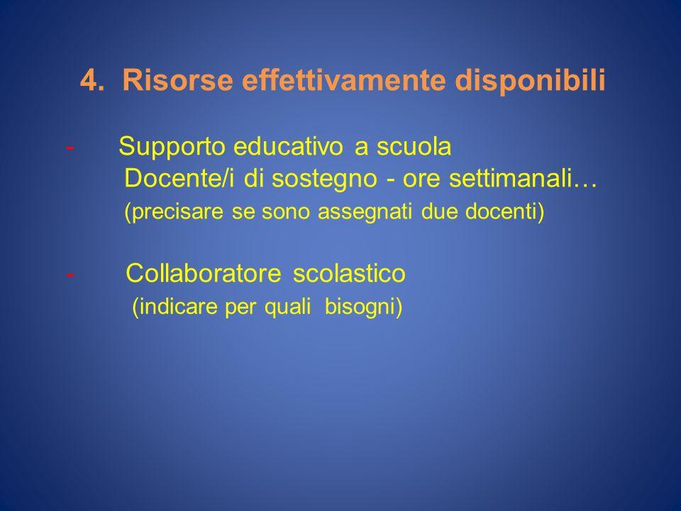 - Interventi riabilitativi Tipi di trattamento n° ore/set.