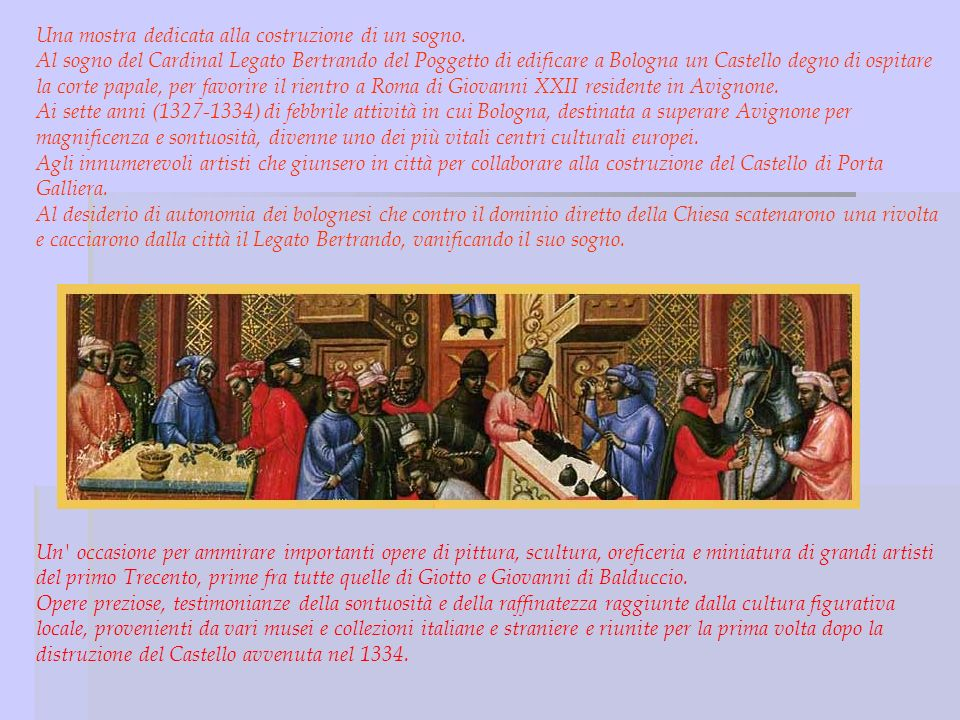 Who was Bertrando del Poggetto.He lived in Bologna and was a cardinal.
