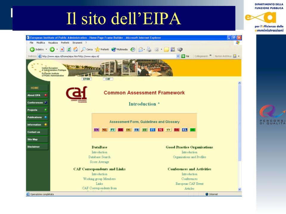 Il sito dellEIPA