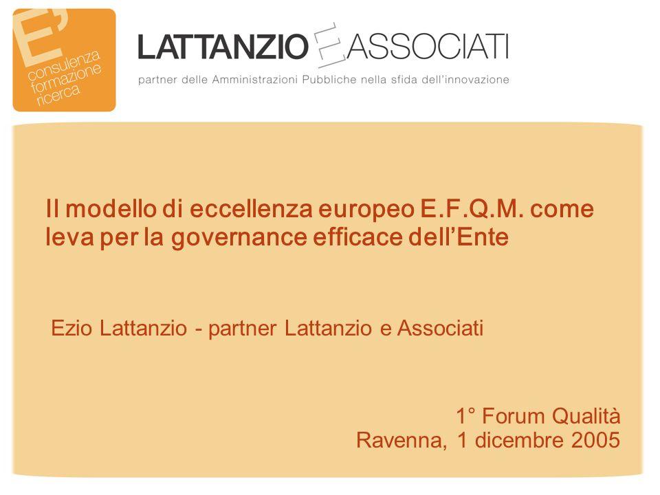 12 Il modello di eccellenza europeo E.F.Q.M.