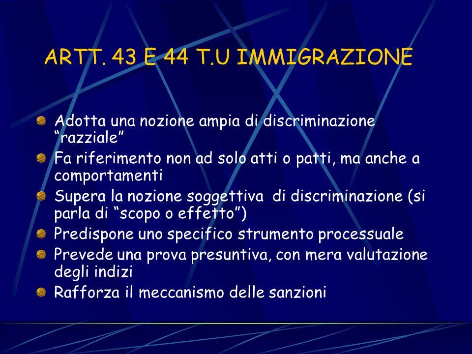 Le fonti normative e i fattori vietati Art. 15 L.