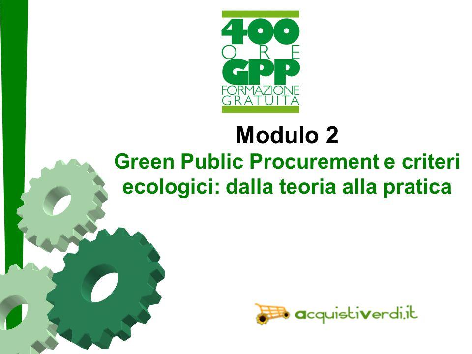 Paolo Fabbri paolo@punto3.info Un permesso ad agire Non cè una legge sugli appalti verdi.