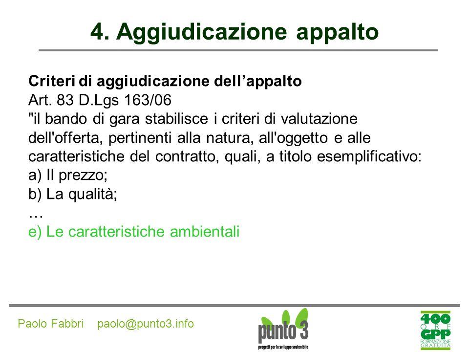 Paolo Fabbri paolo@punto3.info 4.