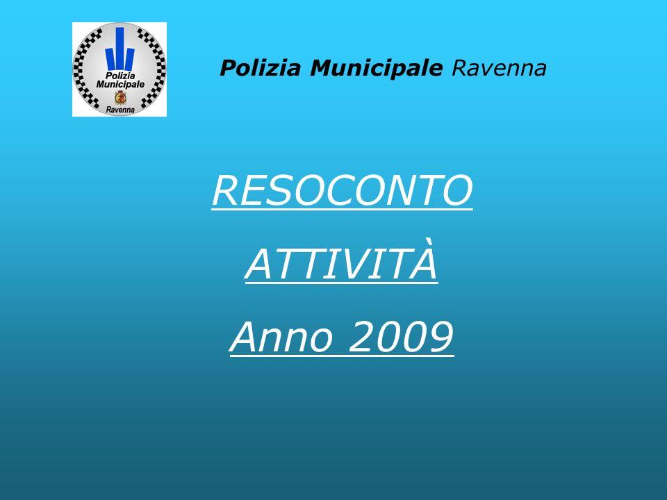RESOCONTO ATTIVITÀ Anno 2009