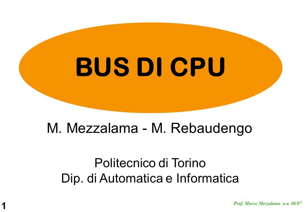 22 Prof.Marco Mezzalama a.a.