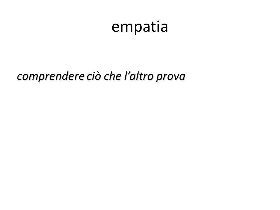 empatia comprendere ciò che laltro prova