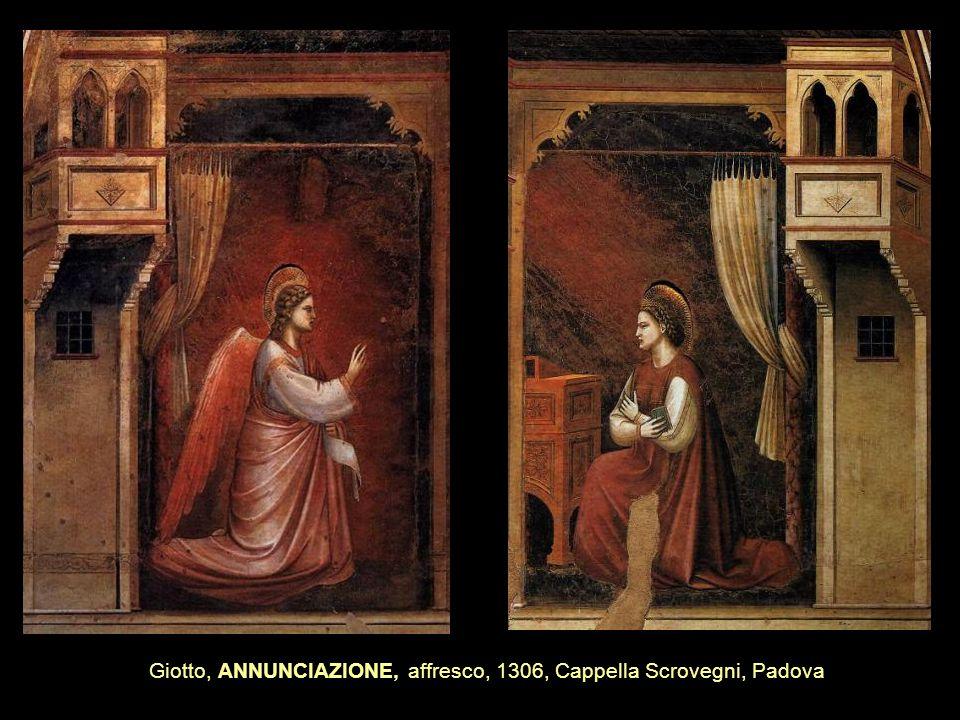 Giotto, ANNUNCIAZIONE, affresco, 1306, Cappella Scrovegni, Padova
