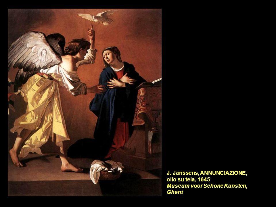 J. Janssens, ANNUNCIAZIONE, olio su tela, 1645 Museum voor Schone Kunsten, Ghent