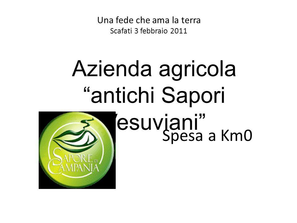 Una fede che ama la terra Scafati 3 febbraio 2011 Spesa a Km0 Azienda agricola antichi Sapori Vesuviani