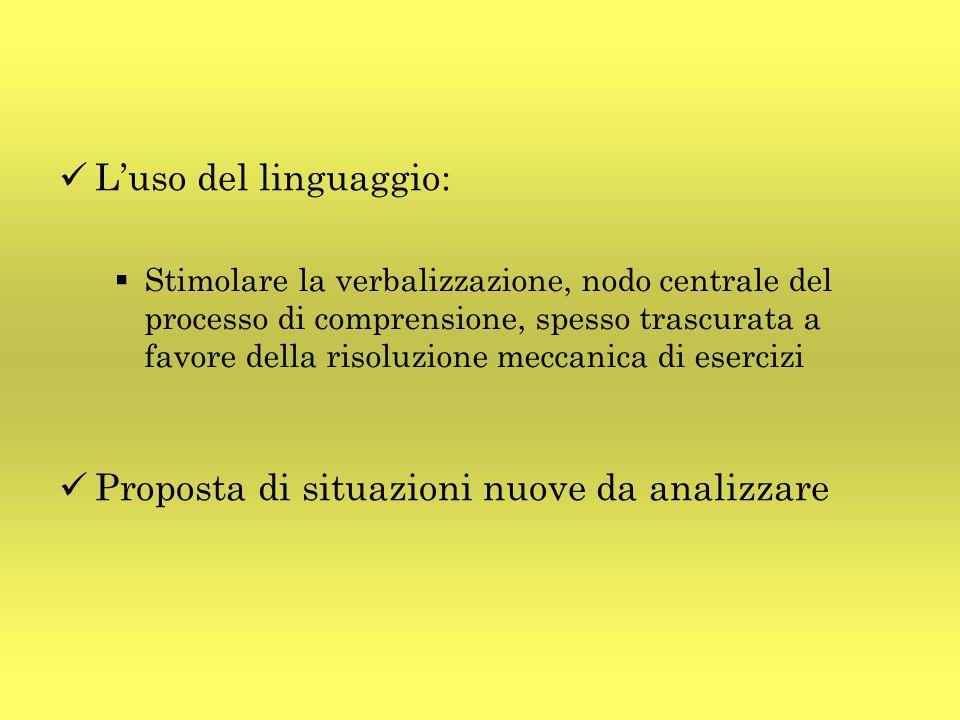 Luso del linguaggio: Stimolare la verbalizzazione, nodo centrale del processo di comprensione, spesso trascurata a favore della risoluzione meccanica