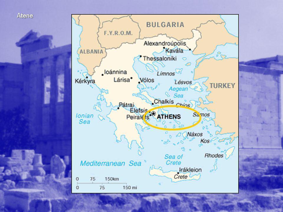 Le costituzioni ateniesi IX – VIII Monarchia VII VI a.C.