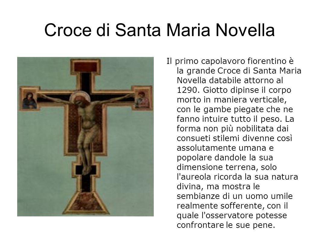 Compianto sul Cristo Morto Uno dei più intensi e drammatici della produzione giottesca.