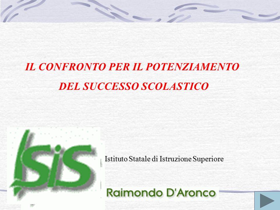 Istituto Statale di Istruzione Superiore IL CONFRONTO PER IL POTENZIAMENTO DEL SUCCESSO SCOLASTICO