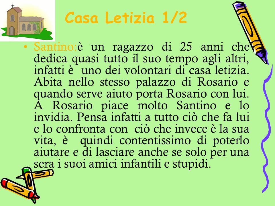 Casa Letizia 2/2 Caterina: è una delle ragazze che sta a Casa Letizia, ha 17 anni ed è incinta.