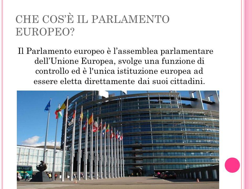 CHE COSÈ IL PARLAMENTO EUROPEO.