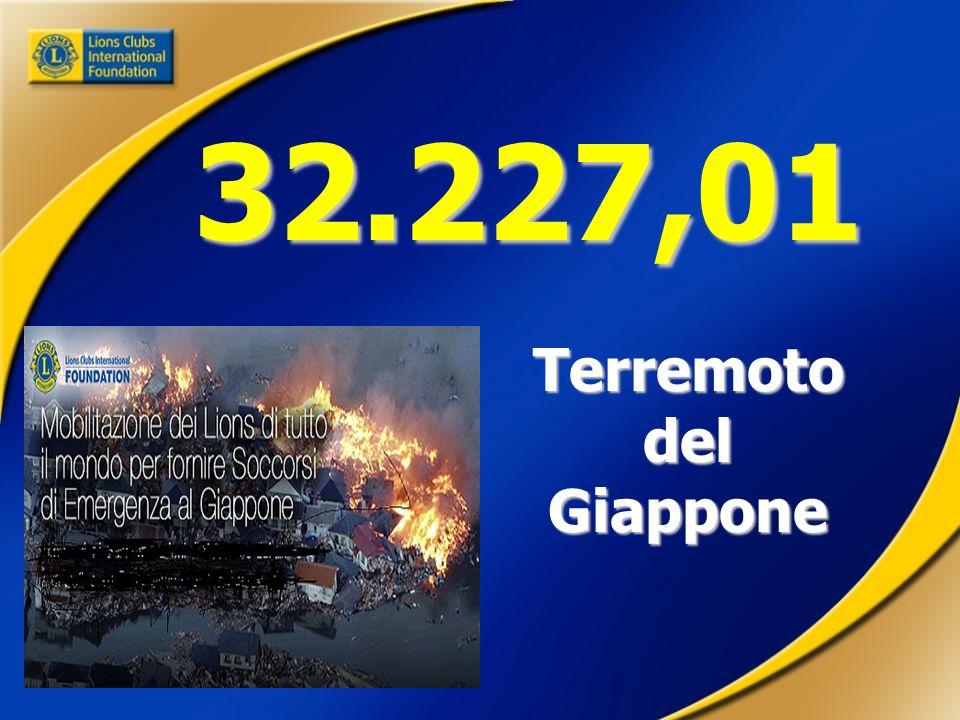 32.227,01 Terremoto del Giappone