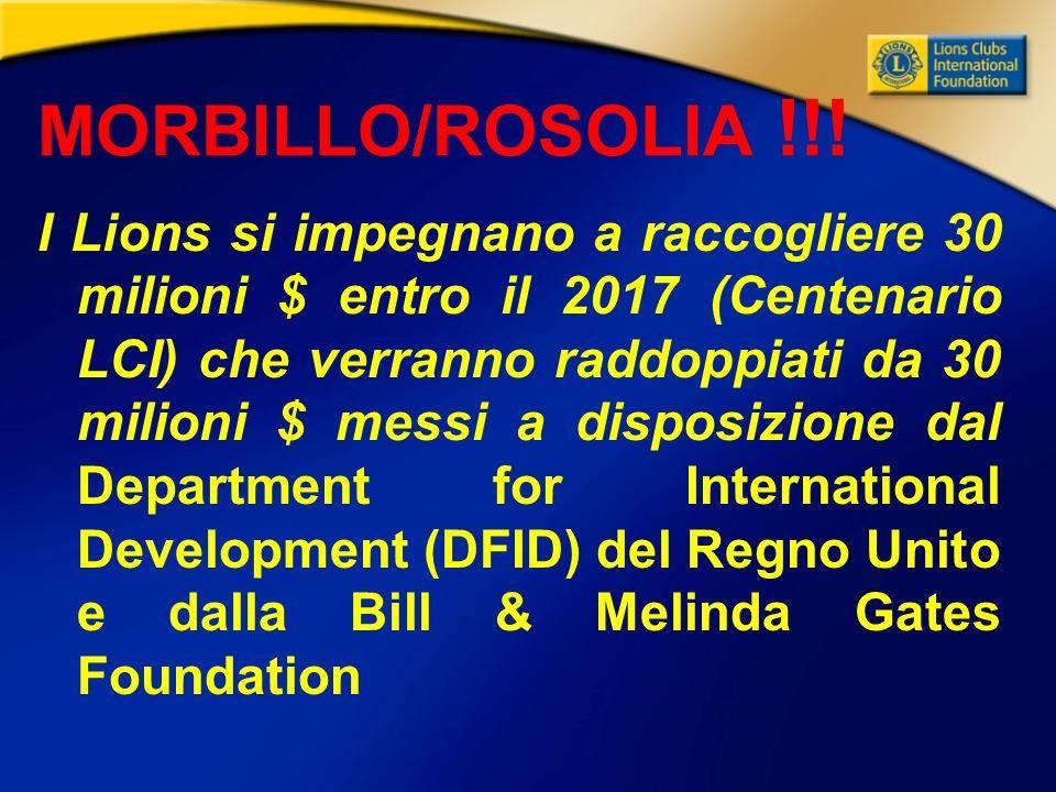 MORBILLO/ROSOLIA !!.
