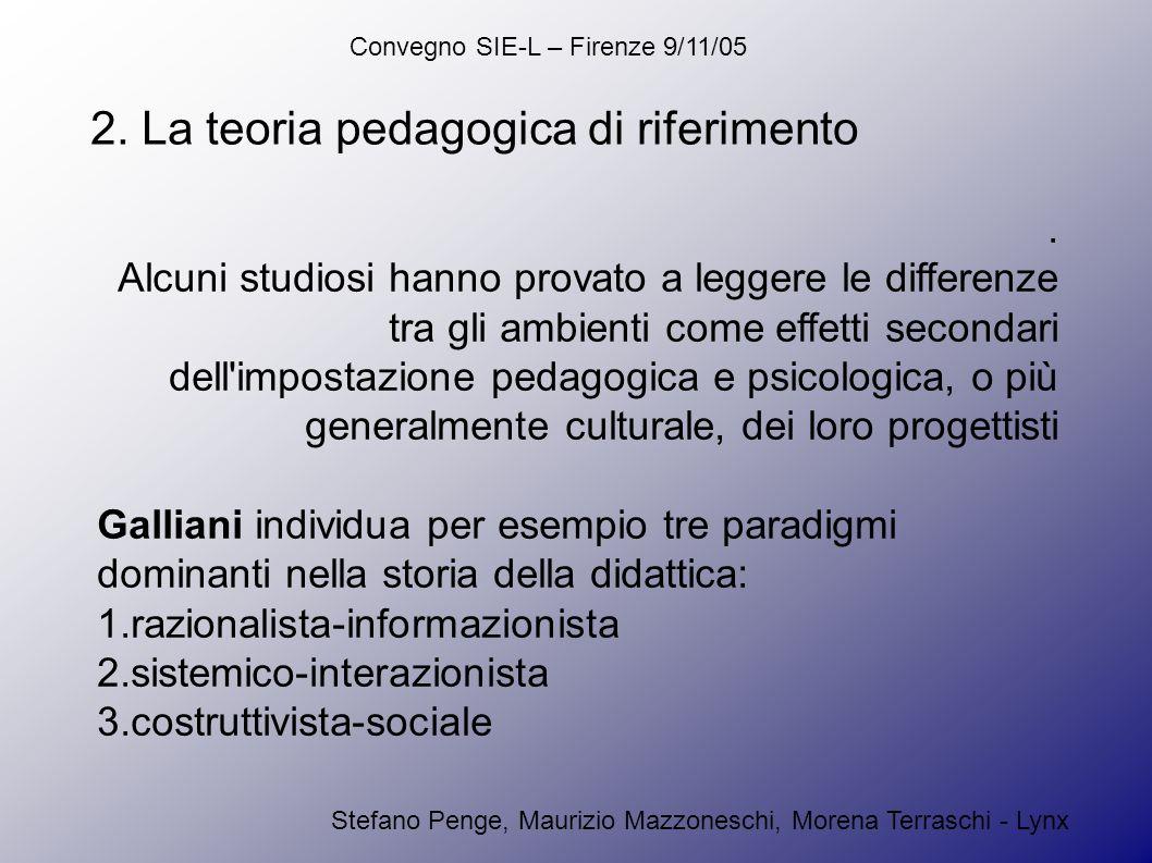 Convegno SIE-L – Firenze 9/11/05 Stefano Penge, Maurizio Mazzoneschi, Morena Terraschi - Lynx 2.