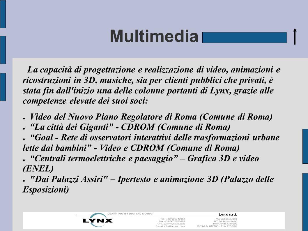 Software didattico Lynx ha un catalogo di software didattici per la scuola unico in Italia per omogeneità e specificità.
