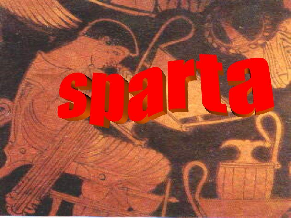 Sparta, la città dei guerrieri dori I dori occupano il PeloponnesoPeloponneso Sottomissione degli Iloti e spartizione delle terre Mancata integrazione Spartiati organizzati come una minoranza di guerrieri in territorio occupatoguerrieri Immobilismo sociale e politico di Sparta
