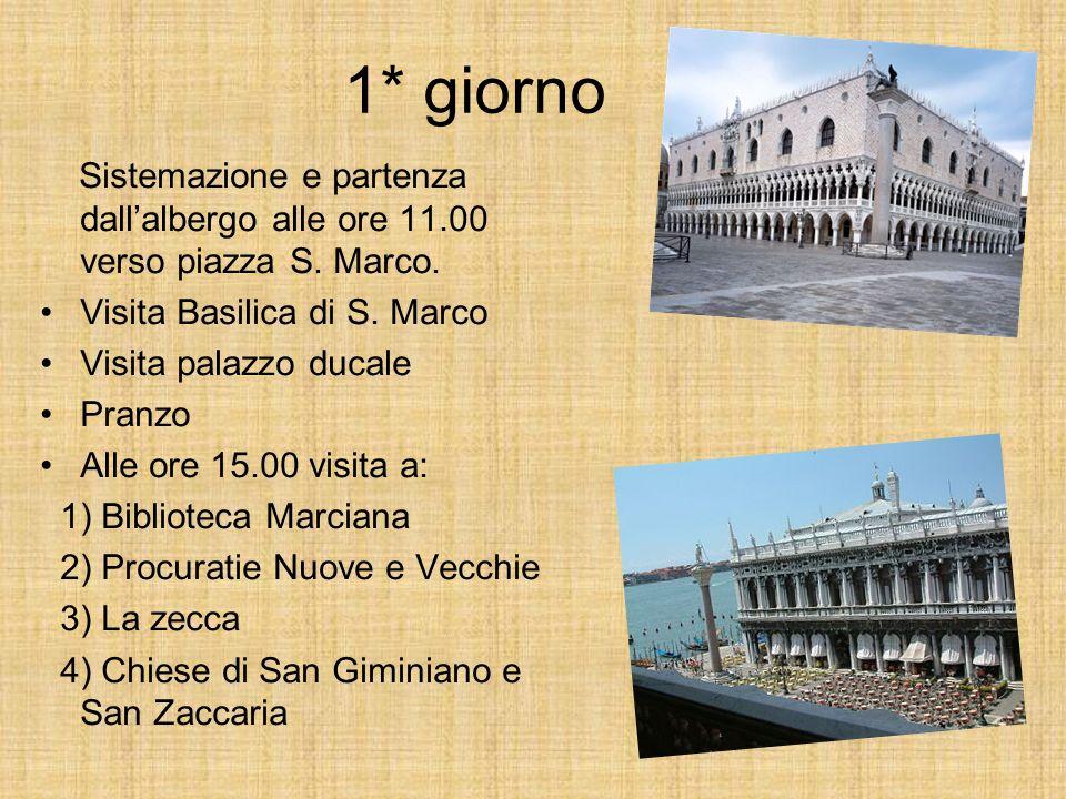 2* giorno Partenza alle ore 8:30 con pullman privato per arrivare a Padova.