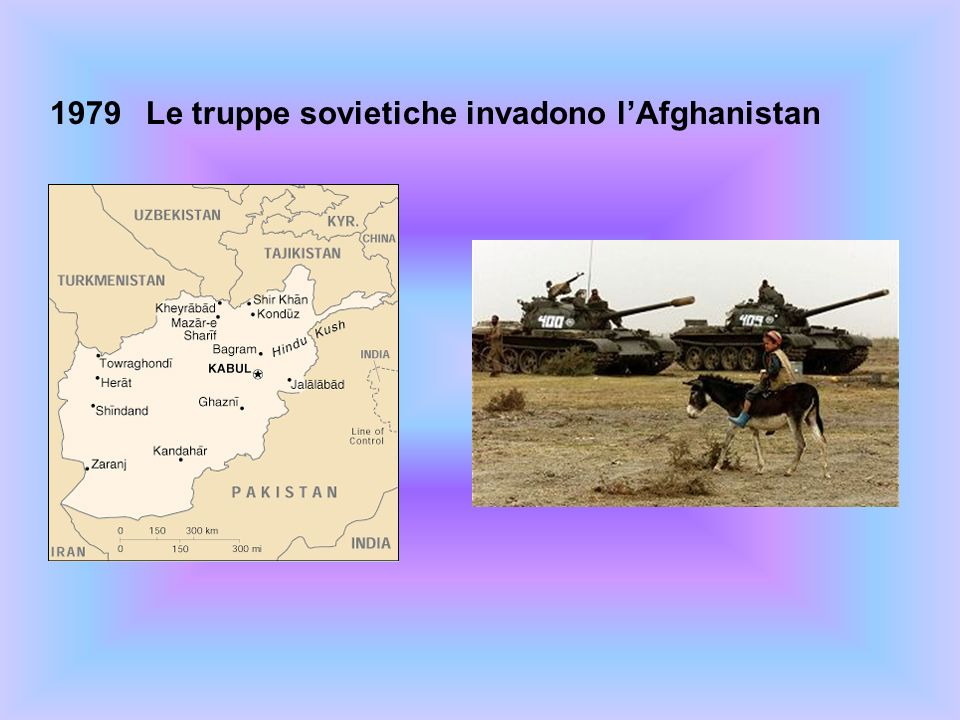 1979Le truppe sovietiche invadono lAfghanistan