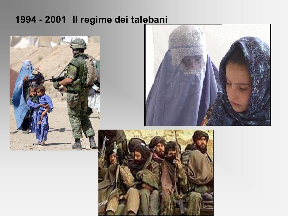 1994 - 2001Il regime dei talebani