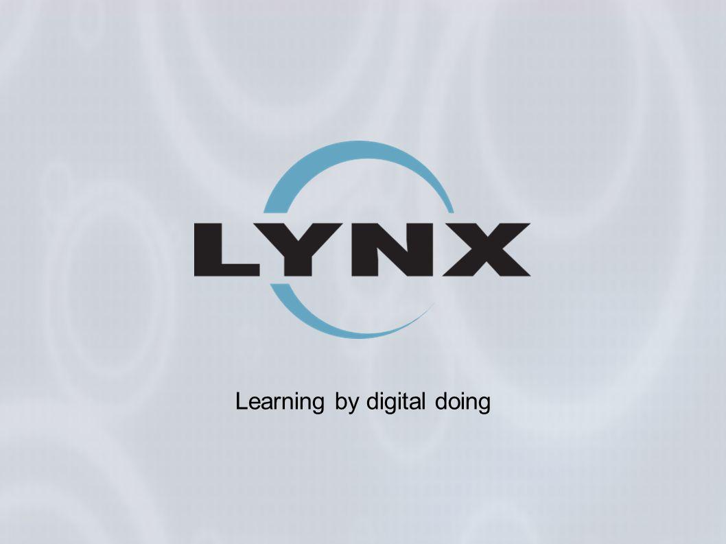 LYNX si occupa da oltre 15 anni di tecnologie per l educazione, a tutti i livelli.