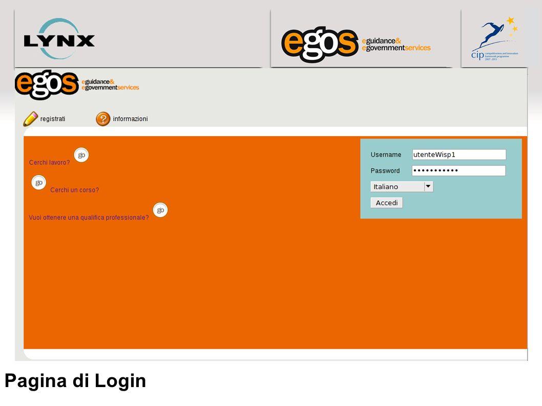Pagina di Login