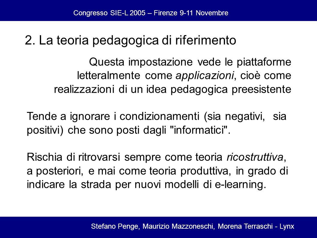Congresso SIE-L 2005 – Firenze 9-11 Novembre Stefano Penge, Maurizio Mazzoneschi, Morena Terraschi - Lynx 2.