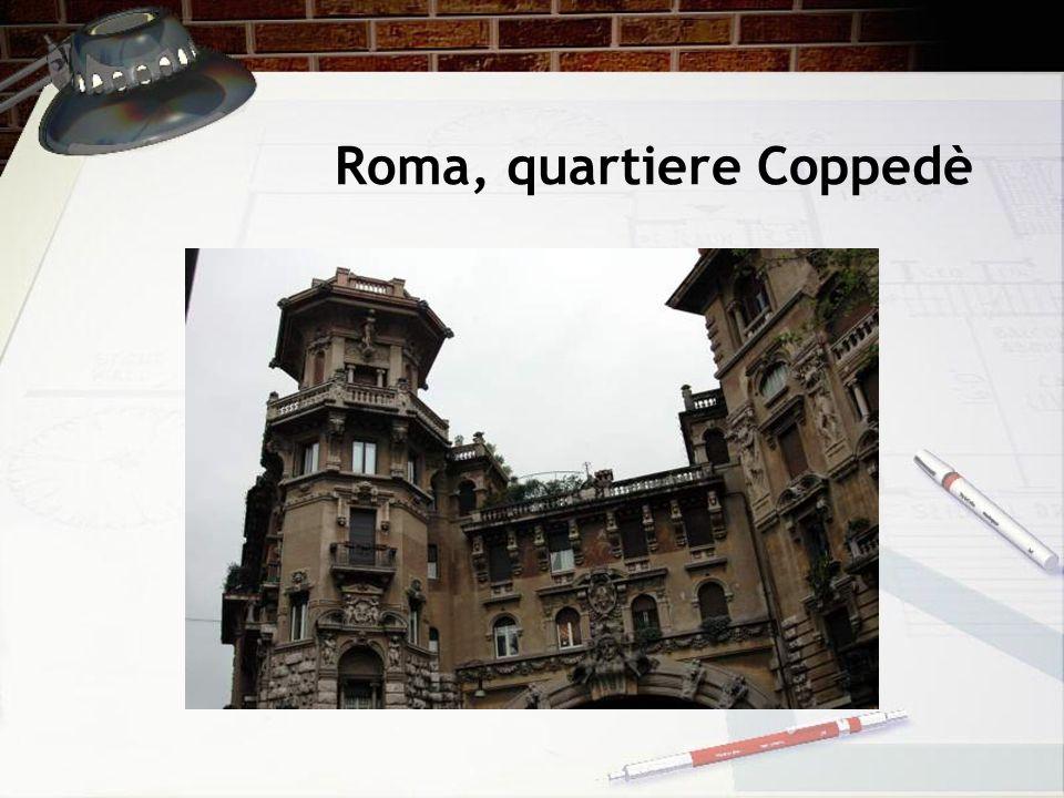 Roma, quartiere Coppedè