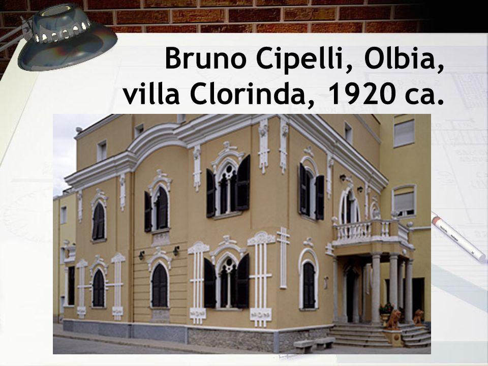 Bruno Cipelli, Olbia, villa Clorinda, 1920 ca.