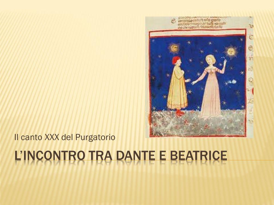 Il canto XXX del Purgatorio