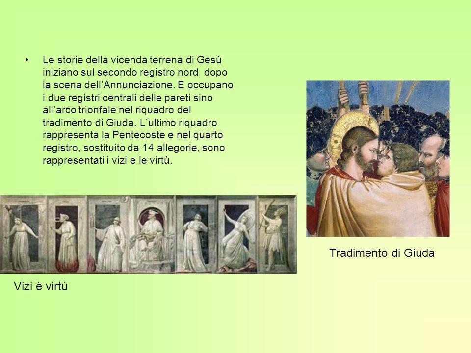 Compianto del Cristo morto Nel Compianto del Cristo morto i personaggi hanno espressioni di vero dolore e i loro gesti aumentano la drammaticità della scena.