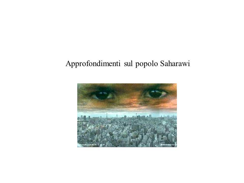 Approfondimenti sul popolo Saharawi