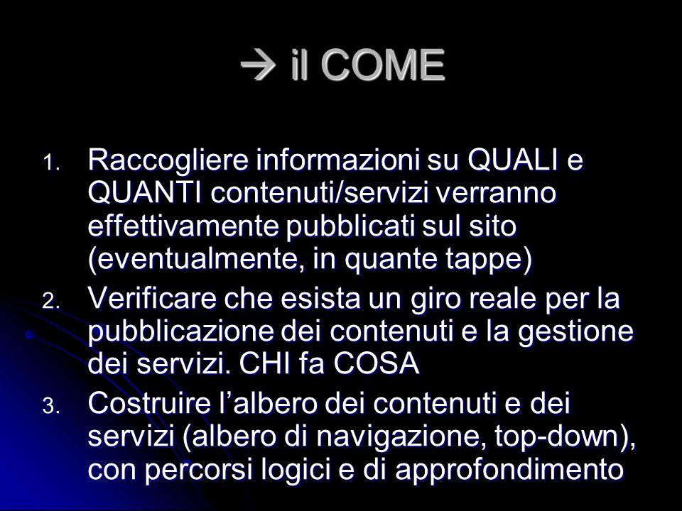 il COME il COME 1.